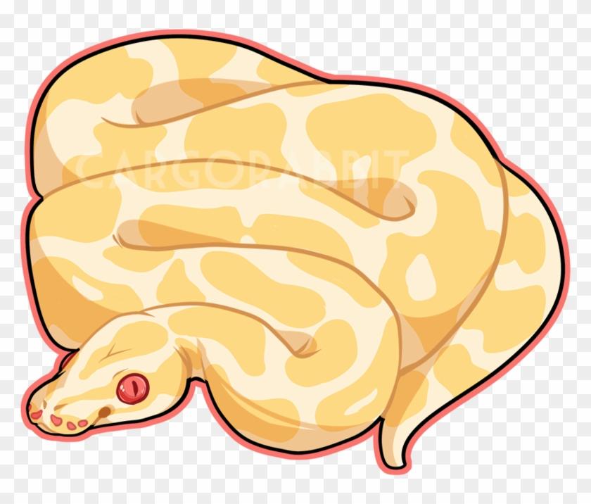 ball python clipart cute cartoon ball python drawing free