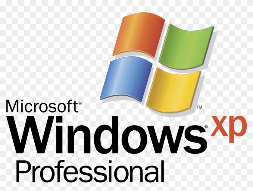 Microsoft Windows Xp Professional Logo Png Transparent - Microsoft Windows 10 Pro, Spanish   Usb Flash Drive #866353