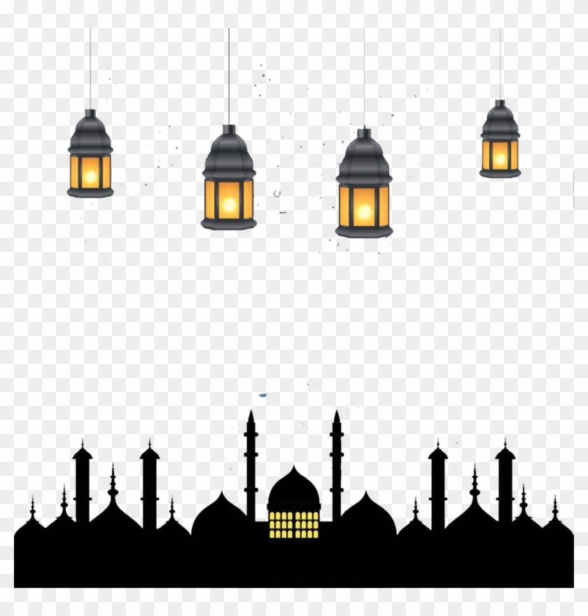 Ramadan Kareem Black Calligraphy - Ramadan Kareem Logo Png Clipart  (#5529612) - PinClipart
