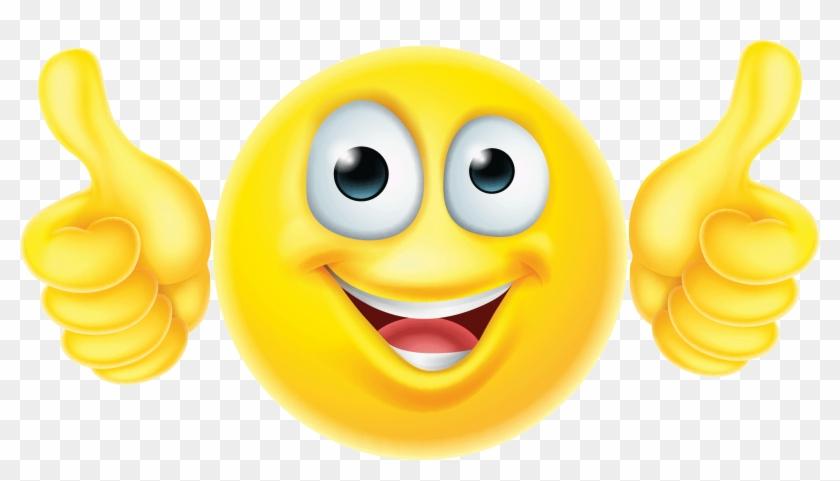 Emoticon Emoji Smiley Like Button - Emoji Smiley Face With Hands #866963