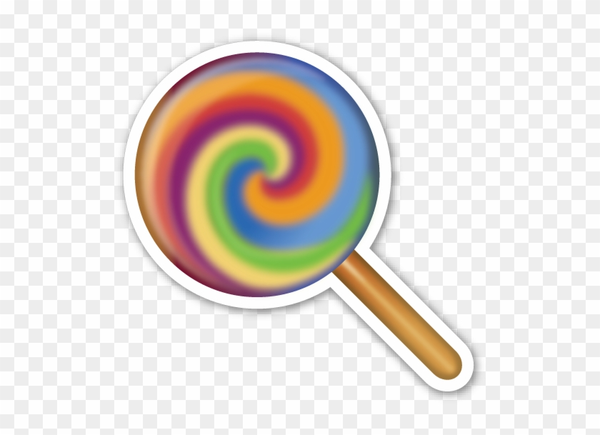Lollipop - Lollipop Emoji Whatsapp Png - Free Transparent PNG