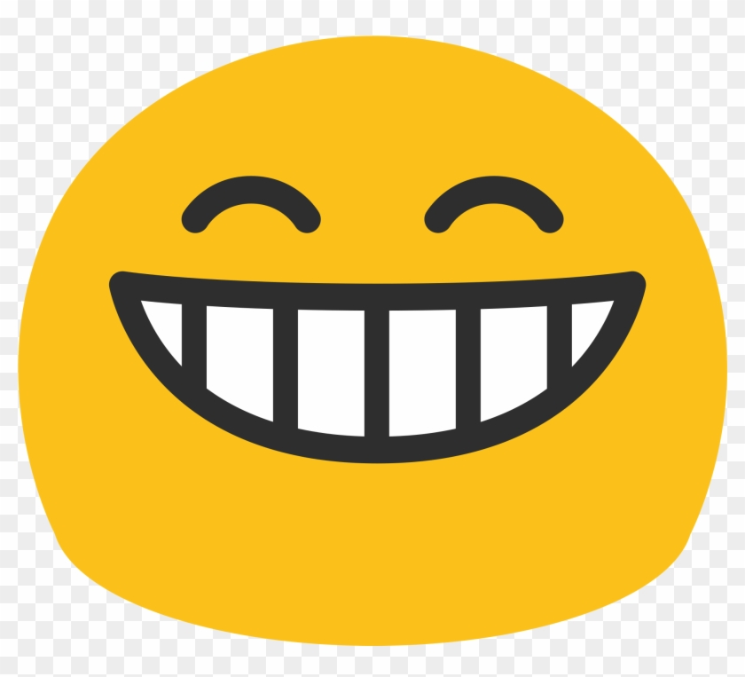 Open - Smiley Face Emoji Android #867189