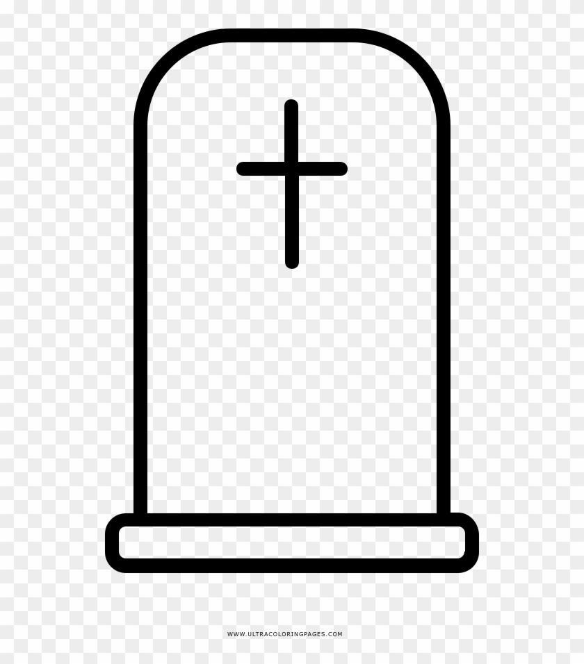tombstone coloring page ultra coloring pages gravestones lapida para colorear 867203