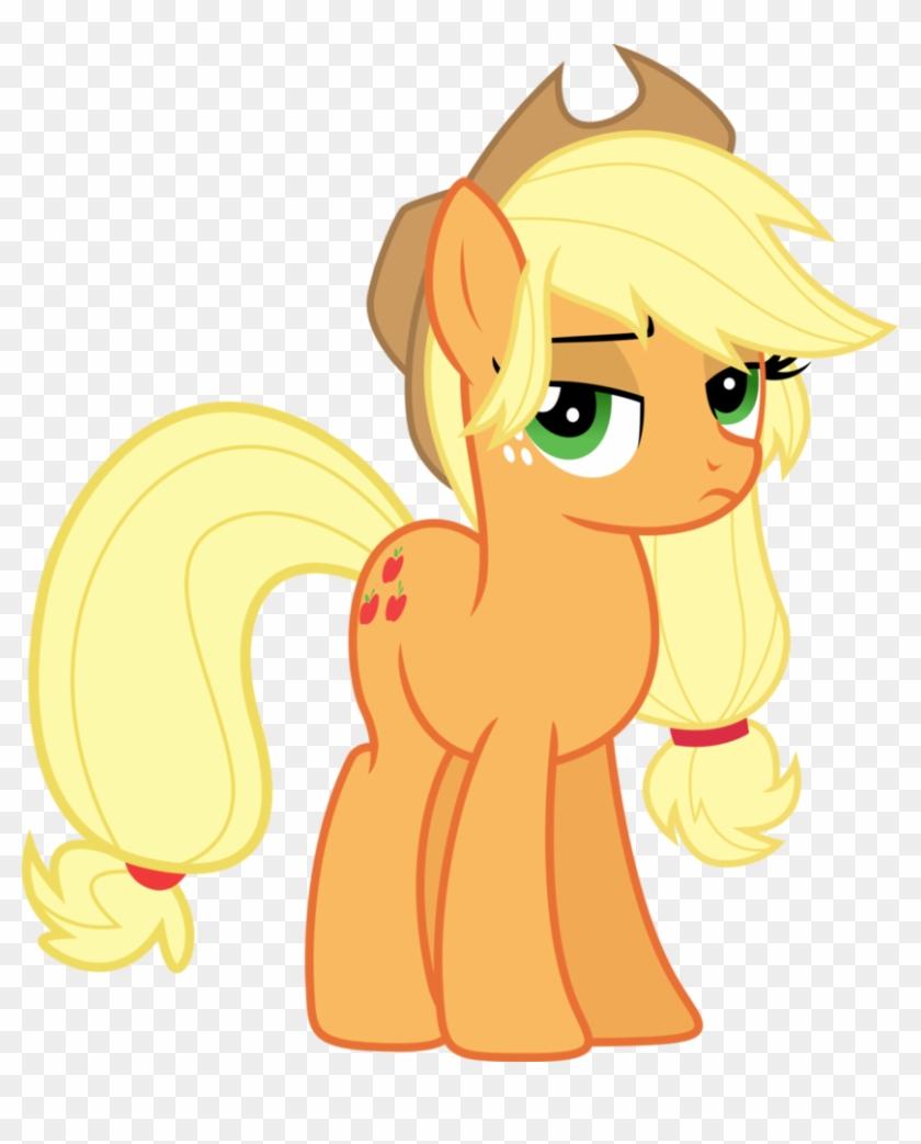 Applejack Ain T Too Pleased Sugarcube Imagenes De My Little Pony