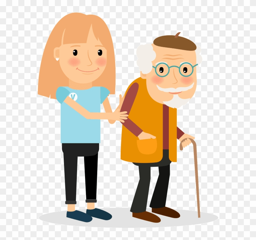 Caregiver And Her Patient Home Care Services In Beverly Utterance Free Transparent Png Clipart Images Download