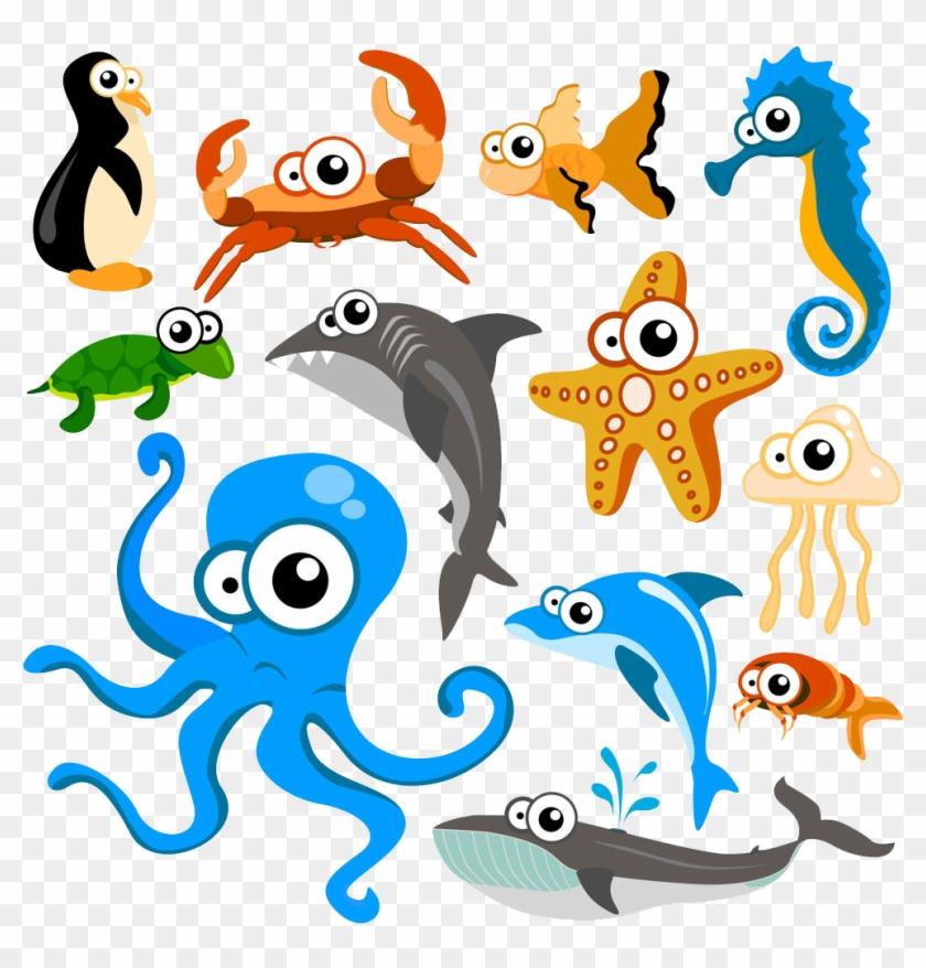 Hippopotamus Cartoon Animal Clip Art Cute Ocean Animals Vector Free Transparent Png Clipart Images Download
