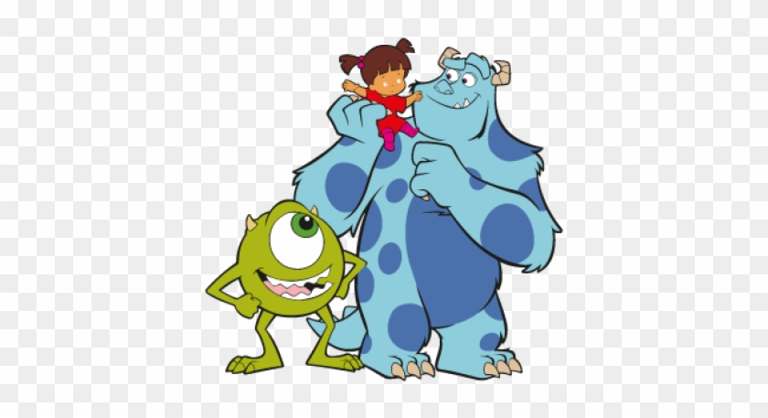Family Monsters Inc Clipart Boo Drawings Monsters Inc With Mike And Sully Free Transparent Png Clipart Images Download