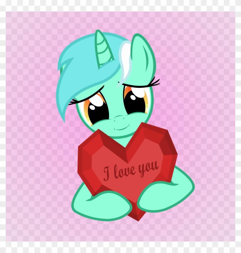 Lyra Happy Valentine Day By Artist-galekz - Lyra Heartstrings Loves You #868465