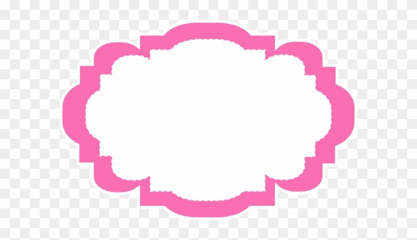 Pink Shape K Clip Art At Clker Com Vector Clip Art - Vector Shape Pink Png #869537