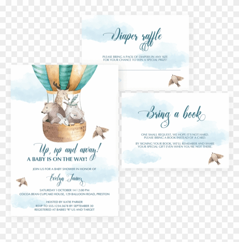 photograph about Late Night Diapers Free Printable identify Very hot Air Balloon Boy or girl Shower Printable By way of Littlesizzle