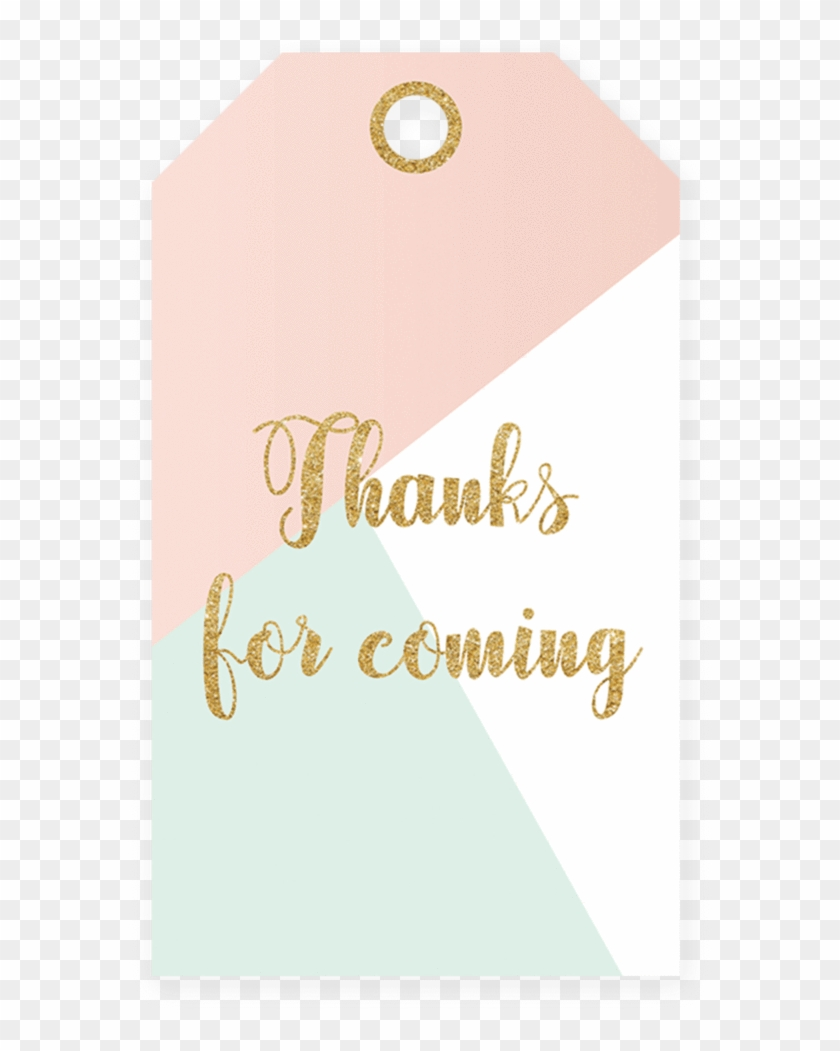 Baby Shower Thank You Tag Printable By Littlesizzle Thank You Tag Png Free Transparent Png Clipart Images Download
