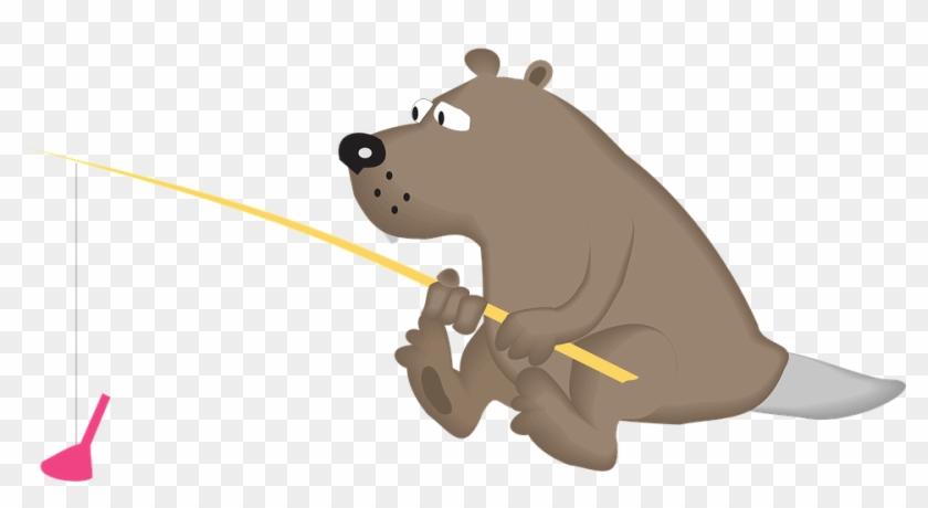 Collection Of Hippopotamus Cliparts - Animal Fishing Cartoon #869767