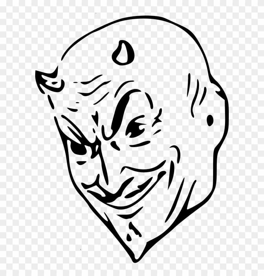 Free Devil Head Devil In Public Domain