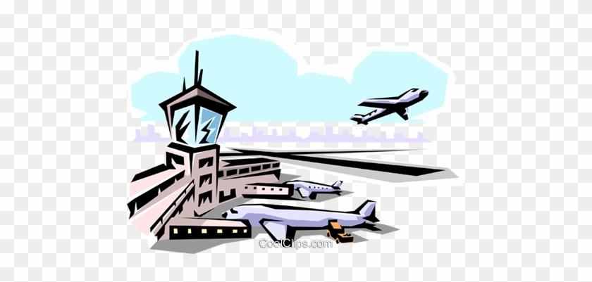 air traffic control Royalty Free Vector Clip Art illustration  -vc063775-CoolCLIPS.com