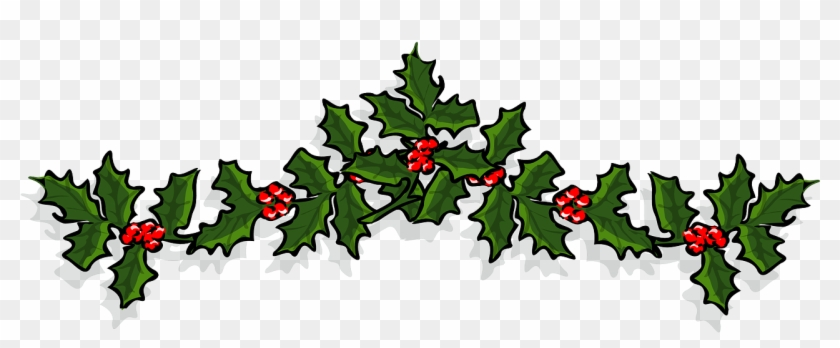 Christmas Holly Clipart Free.Holly 161840 Christmas Holly Banner Free Transparent Png