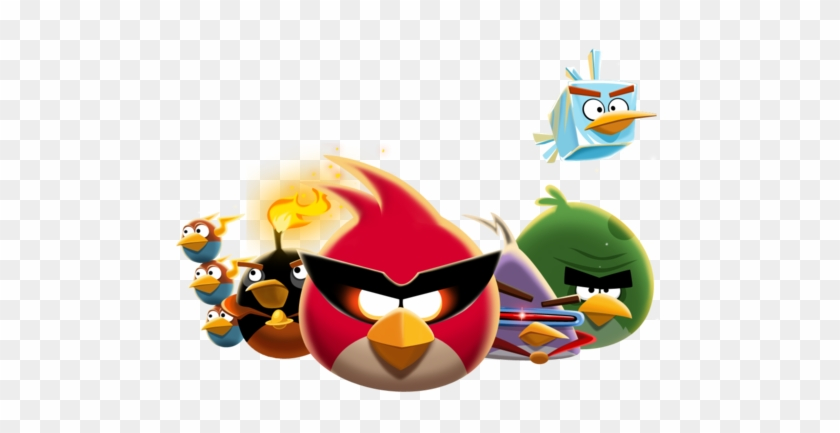 Angry Birds Wallpaper Called The Flock - Angry Birds Space - Strategy Guide #870366