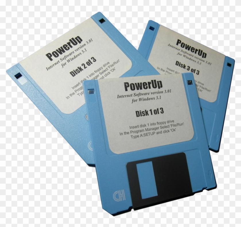 Powerup Internet Original Install Disks - Cpu #871091