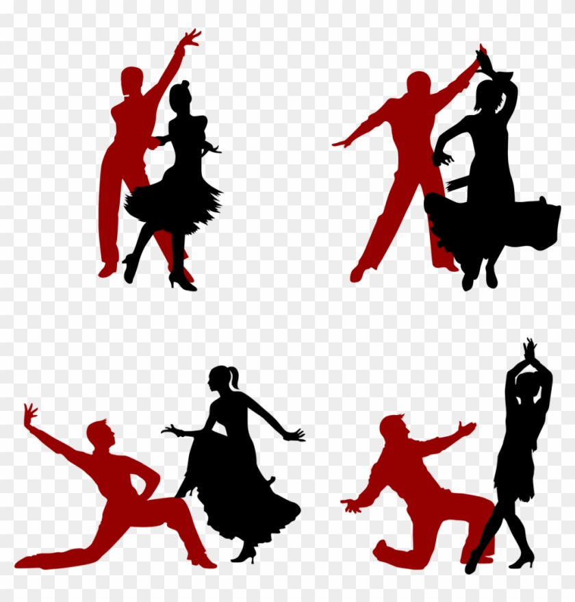 Latin Dance Silhouette Ballet Dancer Silhouette Latin Free Transparent Png Clipart Images Download
