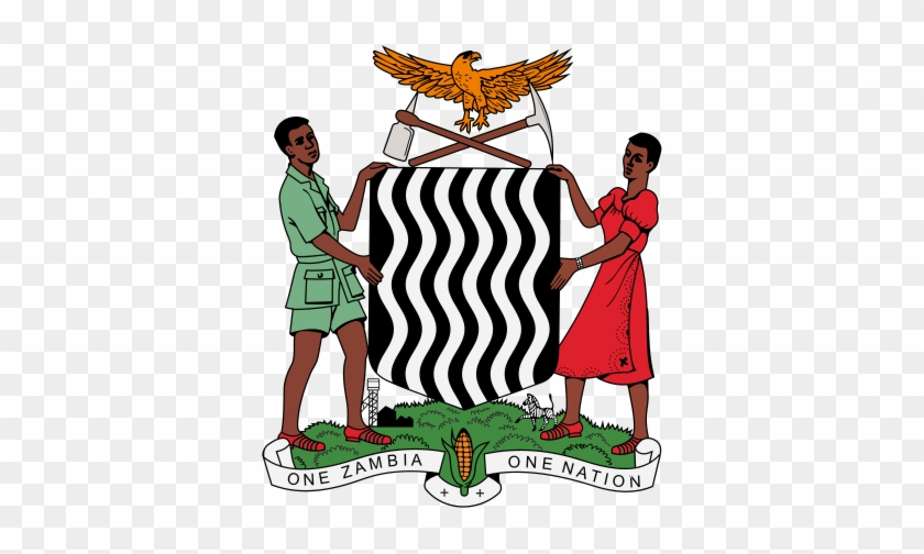 Coat Of Arms Of Zambia - Zambia Coat Of Arms Png #871664