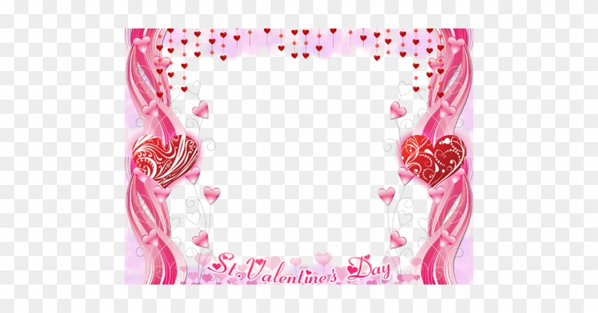 Pink Heart Frames Ps I Love You Free Transparent Png Clipart