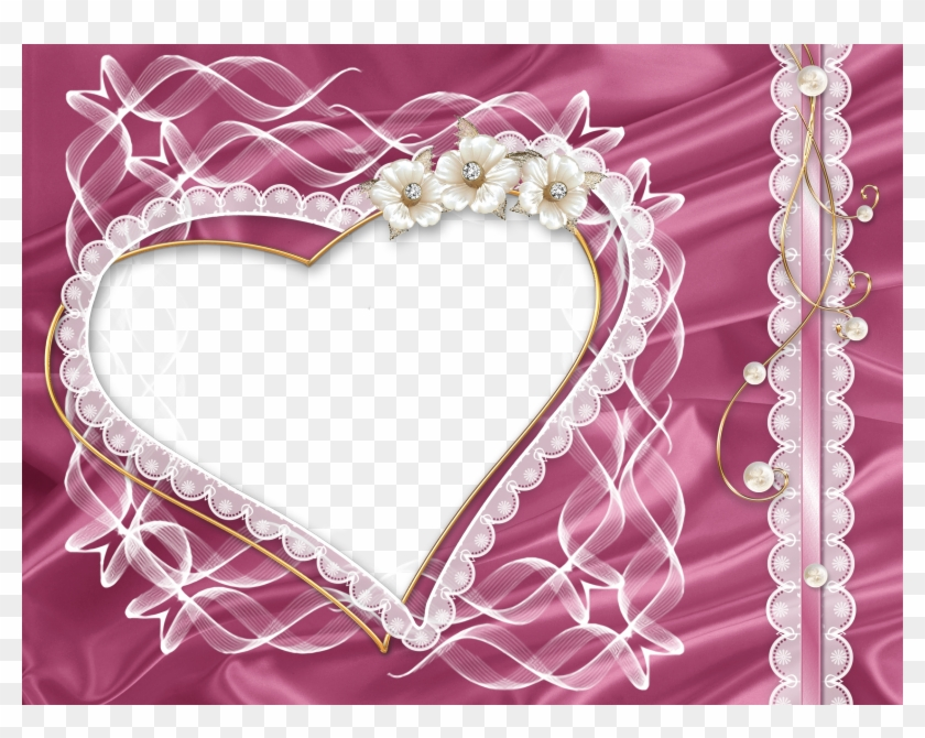 Free Pink Hearts And Flowers Clipart Good Morning To Someone