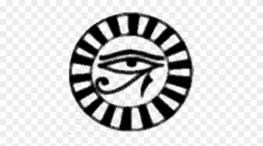 Black Ink Eye Of Horus Tattoo Design Eye Of Horus Free