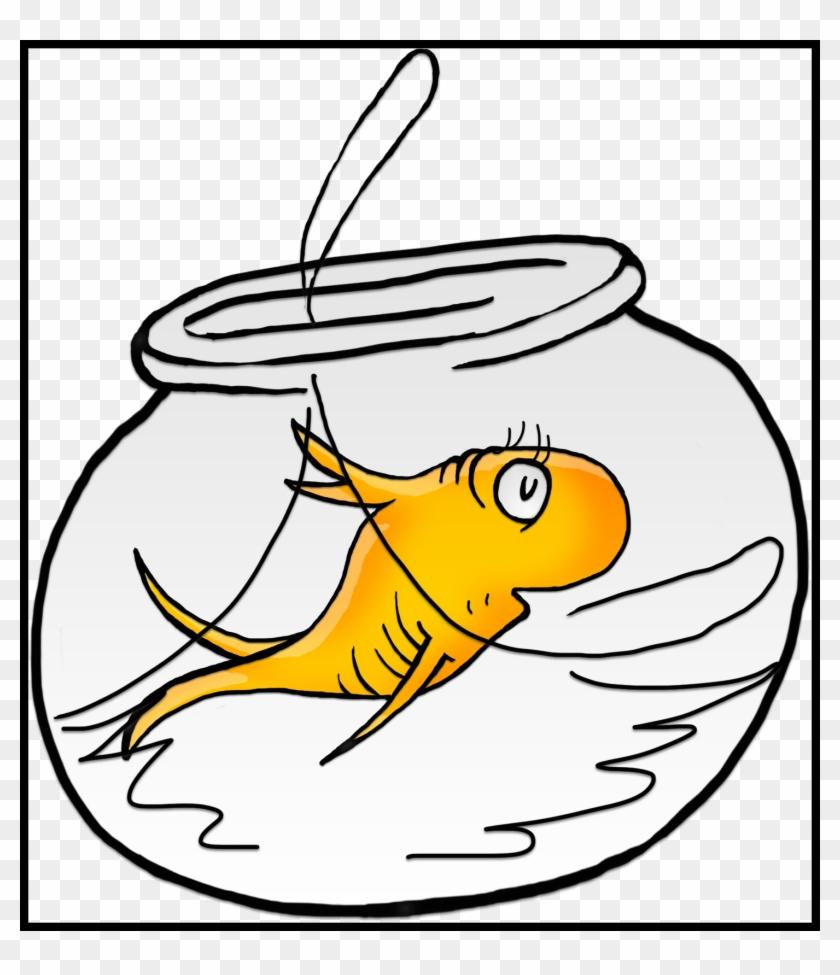 Bear Clipart Bear Eating Fish Clipart Inspiring Clip - Dr Seuss Fish Png #873066