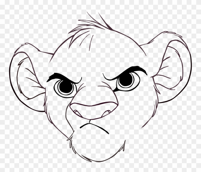 Nice Inspiration Ideas Simba Outline Drawing Rafiki Simba Lion King Outline Free Transparent Png Clipart Images Download With pictures of characters, songs about simba and nala's daughter, kiara, who falls in love with kovu. nice inspiration ideas simba outline