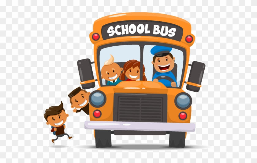 School Bus Student National Primary School - School Bus Tracking Logo #873248