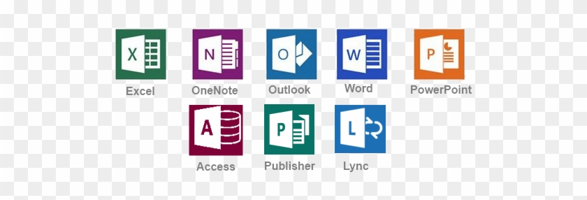 Microsoft Office Professional Plus 2016 - Free Transparent PNG