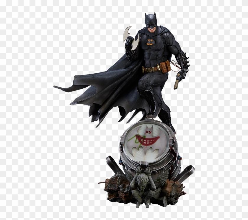 Batman Black Edition Statue - Batman Sideshow Comic Con 2017 #874961