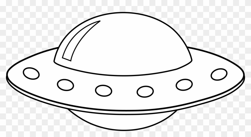 Картинки По Запросу Нло Шаблон - Flying Saucer Clip Art #875087