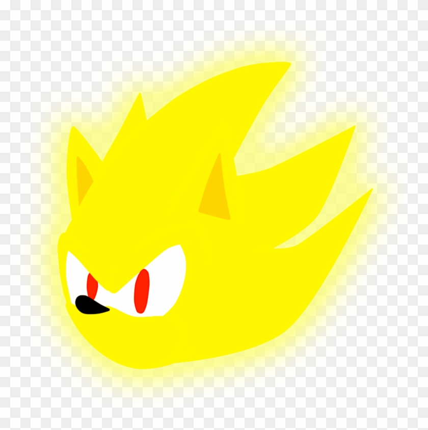 Super Sonic Logo By Joako250 On Deviantart Cabeza De Super Sonic Png Free Transparent Png Clipart Images Download