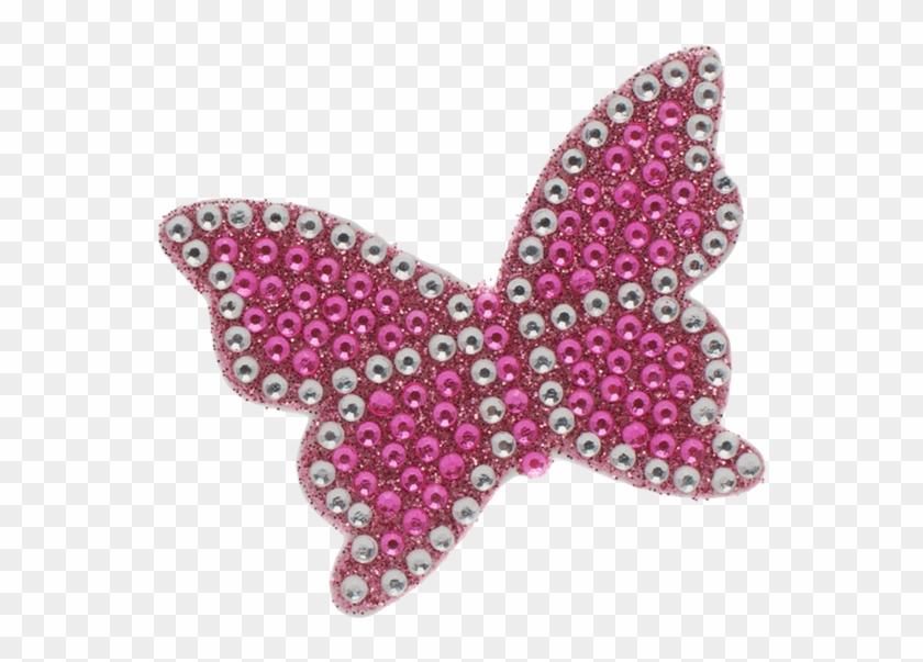 Pink Butterfly Stickerbeans - Swallowtail Butterfly #876169