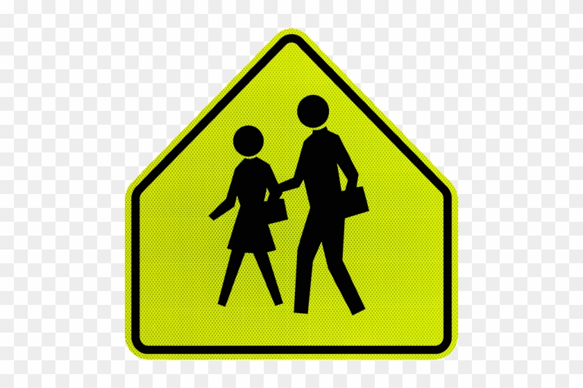 Road Symbol Signs And Traffic Symbols For Roadway Use School Zone