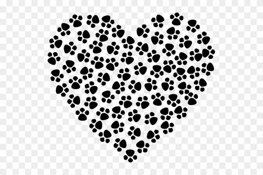 You Are These And So Much More, My Own Little Pet Store, - Paw Print Heart Clipart #876632