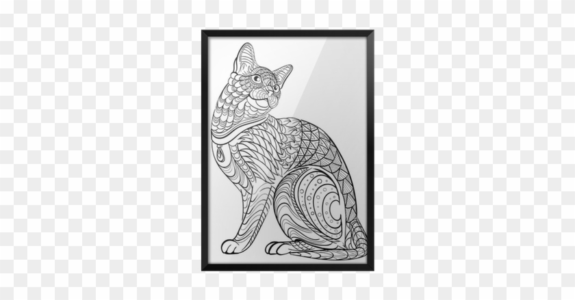 1758717561, Store - Cat Adult Coloring Book #876702