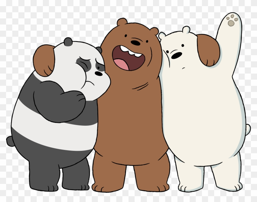 Cartoon Network 100 Quality Hd Wallpaper Desktop Grizzly Panda And Ice Bear Free Transparent Png Clipart Images Download