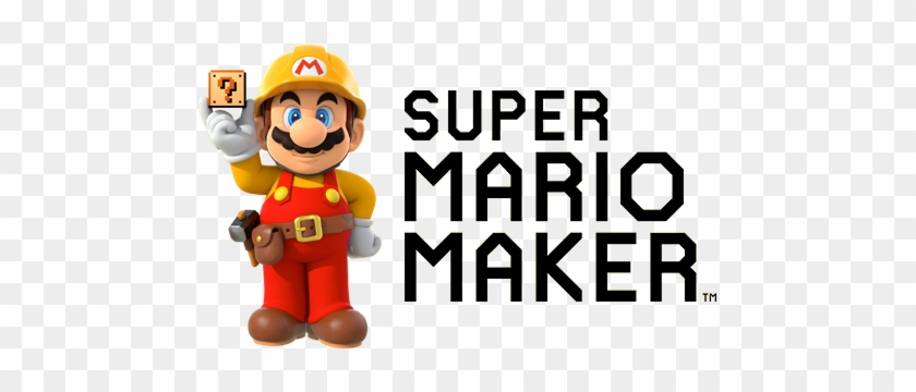 Super Mario Maker - Super Mario Maker Logo Png - Free Transparent