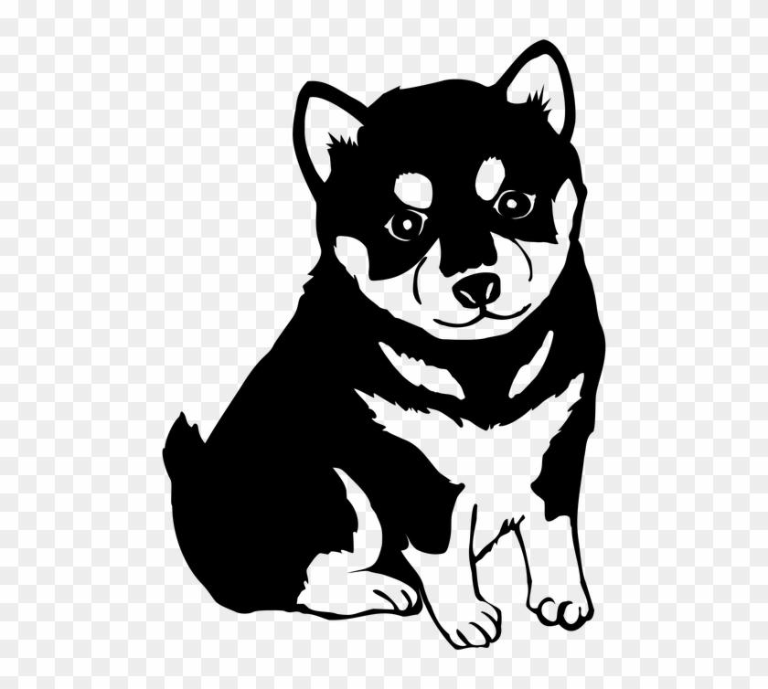Collection Of Cartoon Picture Dog - Shiba Inu Dog T-shirt #877502