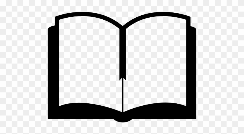 Open Book Clipart Icon - Open Book Png Icon #877604