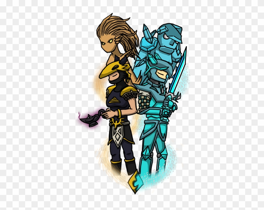 Hallowed Armor By Chuck Norrisss Ppowersteef Nageru Terraria Free Transparent Png Clipart Images Download It consists of the dragon mask, dragon breastplate and dragon greaves. hallowed armor by chuck norrisss