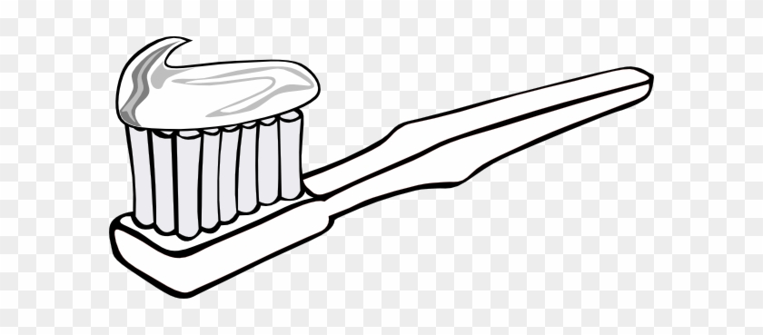 Tooth Brush Clip Art Toothbrush Coloring Pages Free