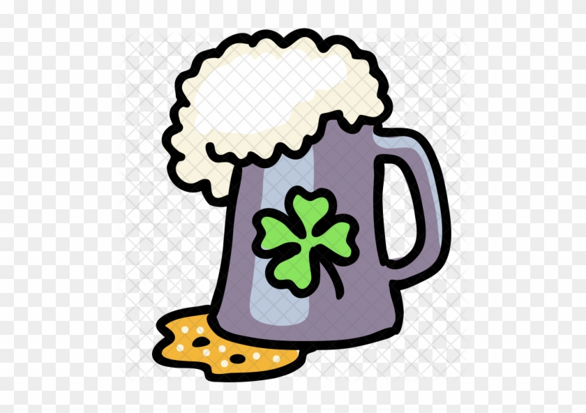 Beer Icon - Beer Glass Outlien #880281