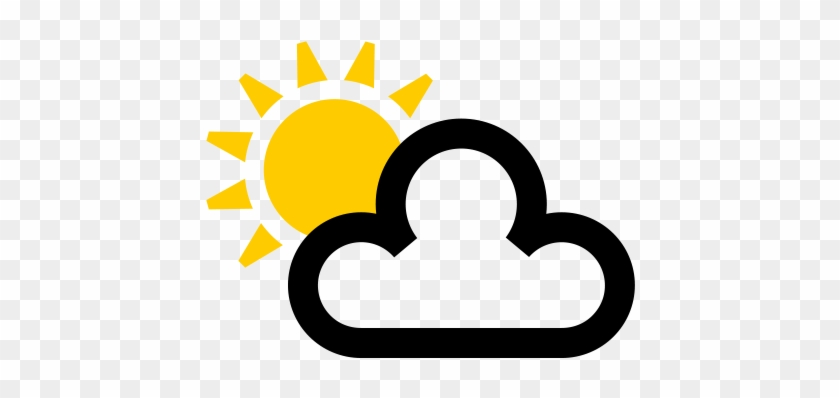 79 Sun And Cloud Weather Symbol Free Transparent Png Clipart