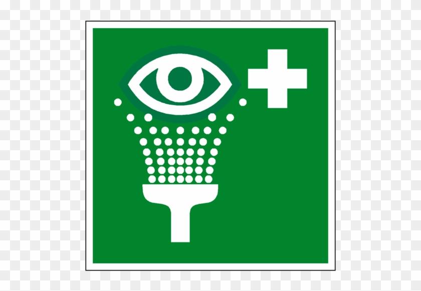 Eyewash Station Symbol Sign - First Aid Eye Wash Sign 200 X 200 Rigid #880478