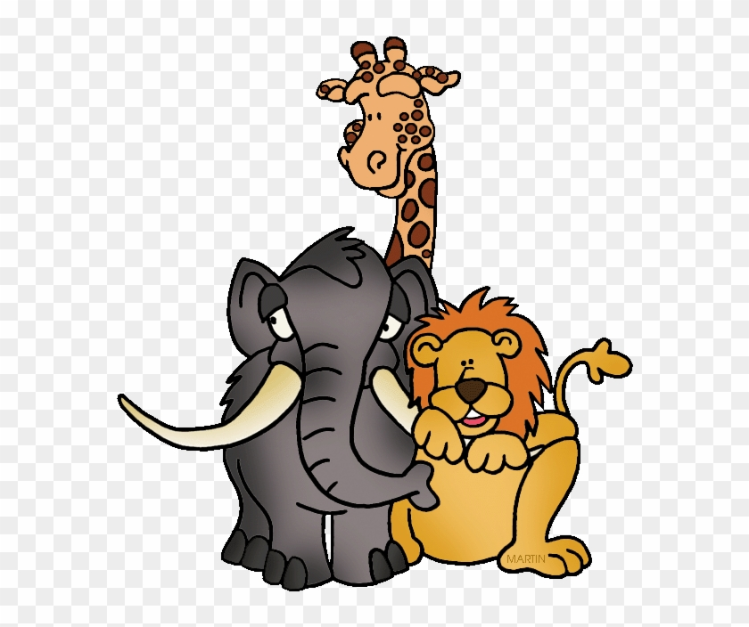 Animals Clip Art By Phillip Martin Prehistoric Trio Zoo Animal Clip Art Free Transparent Png Clipart Images Download