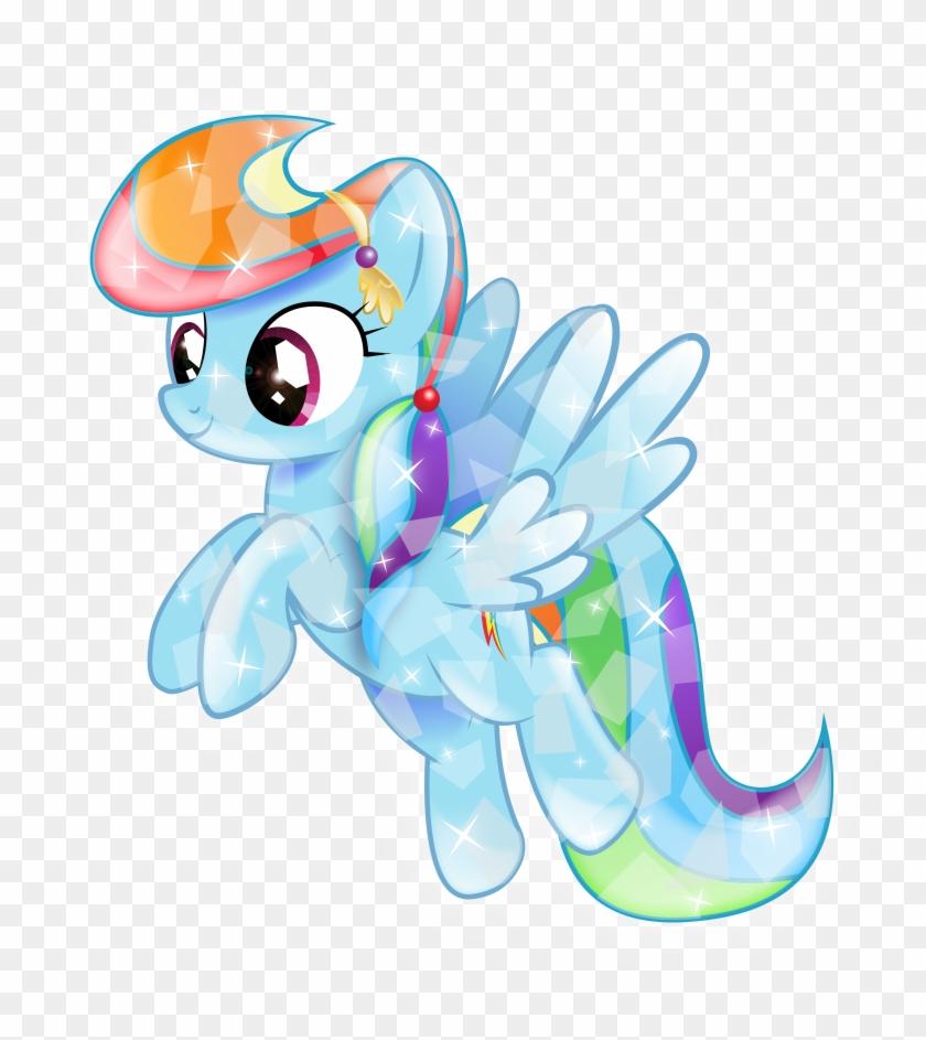 - Infinitewarlock Crystal Rainbow Dash By Infinitewarlock - My