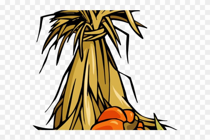 Fall Clipart Corn Stalk - Thanksgiving - Secret Pal - Autumn Theme Card #881194