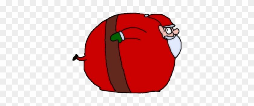 Funny Santa Claus Gif - Fat Santa Gif #881211